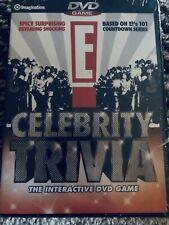 E! CELEBRITY TRIVIA INTERACTIVE DVD GAME - BRAND NEW imagination entertainment