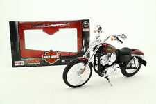 Maisto 1;12 Scale 2012 Harley Davidson 1200V Seventy-Two; Red; Excellent Boxed