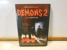 Demons 2 DVD 1986 film Horror Dario Argento & Lamberto Bava Film 2007 Release