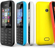 Nokia 208 2080 одинарный Sim разблокированный оригинальный иврит английский клавиатура сотовый телефон