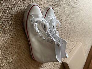 white converse hi tops new