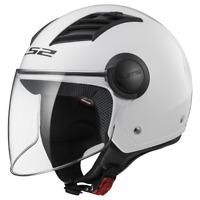 LS2 OF562 AIRFLOW OPEN FACE SCOOTER MOTORCYCLE HELMET WITH FLIP-UP VISOR