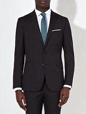 Kin by John Lewis Men's Beacon Pinpoint Wool Blend Jacket -charcoal 36r