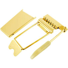 Long Vibrato /Tremolo Lyre Vibrola with Arm & Cover for Gibson® Guitars - GOLD