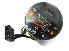 Speedometer Black 120 km / h with fuel gauge Vespa PX, Lusso 80-200