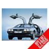 DELOREAN Póster Arte Impreso A4 A3 Tamaño - Buy 2 GET ANY 2 Free