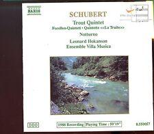 Naxos - Schubert / Trout Quintet - Notturno