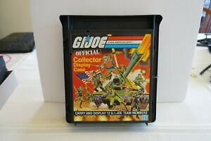 1982 GI JOE OFFICIAL COLLECTOR DISPLAY CASE // COMPLETE SUPER CLEAN // NM