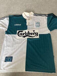 Liverpool Away Shirt 1995/96 Adults Large