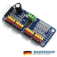 PCA9685 16 Kanal Driver Servomotor Treiber Modul PWM I2C Arduino Raspberry Pi