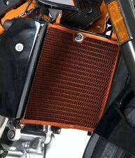 KTM 690 Duke R 2015 R&G Racing Radiador Guardia RAD0127OR Naranja
