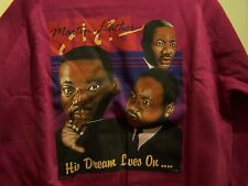 """Afro-Centric Long Sleeved """"Martin Luther King"""" Imprinted Sweatshirt: size:Large"""