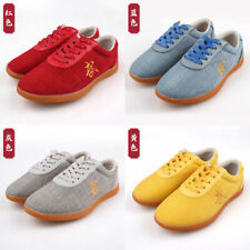 Uniex Linen Martial Art Kung Fu ai chi Trainers Athletic shoes Training Footwear