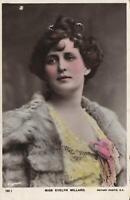 1906 VINTAGE MISS EVELYN MILLARD ROTARY PHOTOGRAPHIC Series POSTCARD - USED