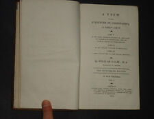 A VIEW OF THE EVIDENCES OF CHRISTIANITY in 3 Parts by W. Paley: Religion / 1811
