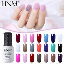 HNM Color Gel Polish UV LED Top Base Coat Nail Art Lacquer Manicure Varnish DIY