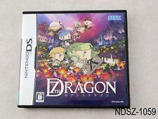 7th Dragon Nintendo DS Japanese Import NDS JP Japan Seventh Sega US Seller A