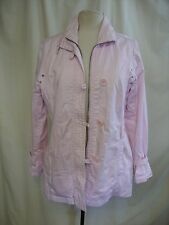 "Ladies Jacket Per Una baby pink parka, UK 12, bust 38"", length 31"", no belt 7806"