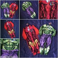 Kids Official Avengers Hulk Ironman Fancy Infinity Wars Pyjamas PJs Girls Boys