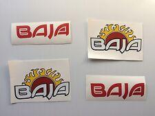4  Baja boat decals  marine vinyl  each 6 inch decals