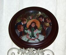 Scarlett & Suitors Gone with the Wind 1988 Golden Anniversary Series Plate Frame
