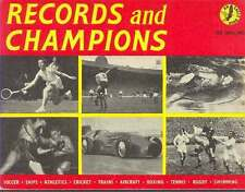 """Records and Champions"" - An Eagle Sports Book 1959 Football, Athletics, Boxing"