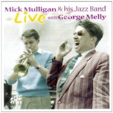 Mick Mulligan & His Jazz Band - Live With George Melly (2002)  CD NEW SPEEDYPOST