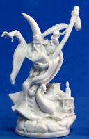 1x KIERAN HAUT MAGE - BONES REAPER figurine miniature jdr high male wizard 77034