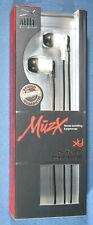 ALTEC LANSING MZX126W MuzX Noise Isolating Earphones iPod iPhone & MP3 Players