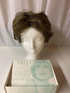 Paula Young Trisha-P Wig Color 12 Ash Brown Wavy Wig