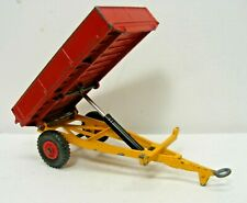 Dinky Toy #319 Weeks Tipping Farm Wagon Vintage!