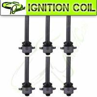 Set of 6 Brand New Ignition Coils for Isuzu Axiom Rodeo Axiom Trooper Honda