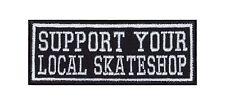 Support your local negozio di skate Biker Heavy Rocker PATCH RICAMATE STAFFA immagine BADGE