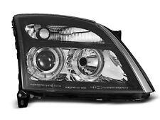 Paire de feux phares Opel Vectra C 02-05 angel eyes noir