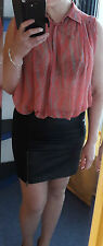 Vero Moda Bluse Tunika,Neu, Top Shirt Gr.M/L 38/40 lose Oberteil transparent