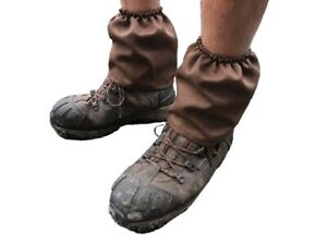 Elastic ankle gaiters boot sock protector from grass gravel sand bugs Adult