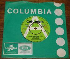 """CLIFF RICHARD ~ che vivono in armonia B/W ~ SEDIE vuote UK COLUMBIA DEMO 7"""" 1972"""