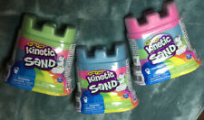 Kinetic Sand New Lot of 3 *Blue, Pink, Green* 5 oz each