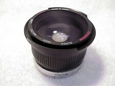 Super Wide Auxillary Lens 0.42X | 52mm & 49mm mount rings provided |