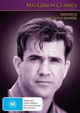 Maverick - Tequila Sunrise - Action / Western / Thriller - Mel Gibson - NEW DVD