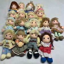 Lot of 17 Vintage Precious Moments Dolls By Applause Plush Cloth 10""