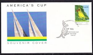 Australia 1986 America's Cup  APM17668 Boxing Kangaroo First Day Cover