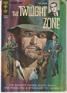 """The Twilight Zone #18 Gold Key 1966 """"Classic 60's TV Series"""" Rod Serling Cover"""