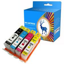 4 CYC Brand Ink Cartridges fits for HP 364XL Deskjet 3070A 3520 Officejet 4620