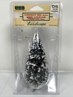 Lemax 1994 Village Collection Snow Covered Evergreen Tree Medium  #44085 NOS