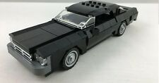 Lego Black Chevrolet Impala Classic Muscle Car Engine Sports Vehicle Display Art