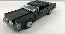 Lego Black Chevrolet Impala Classic Muscle Car Engine Sports Vehicle Display Art