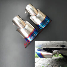 RS Turbo Tail End tip Muffler Rear Exhaust Pipe For Honda Civic 2016 Coupe Sedan