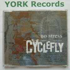CYCLEFLY - No Stress - Excellent Condition CD Single Radioactive RAXTD 41
