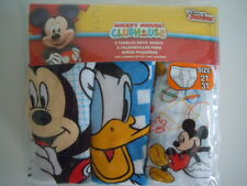 MICKEY MOUSE CLUBHOUSE DISNEY JUNIOR TODDLER BOYS' BRIEF SIZE 2T-3T CUTE BRIEFS